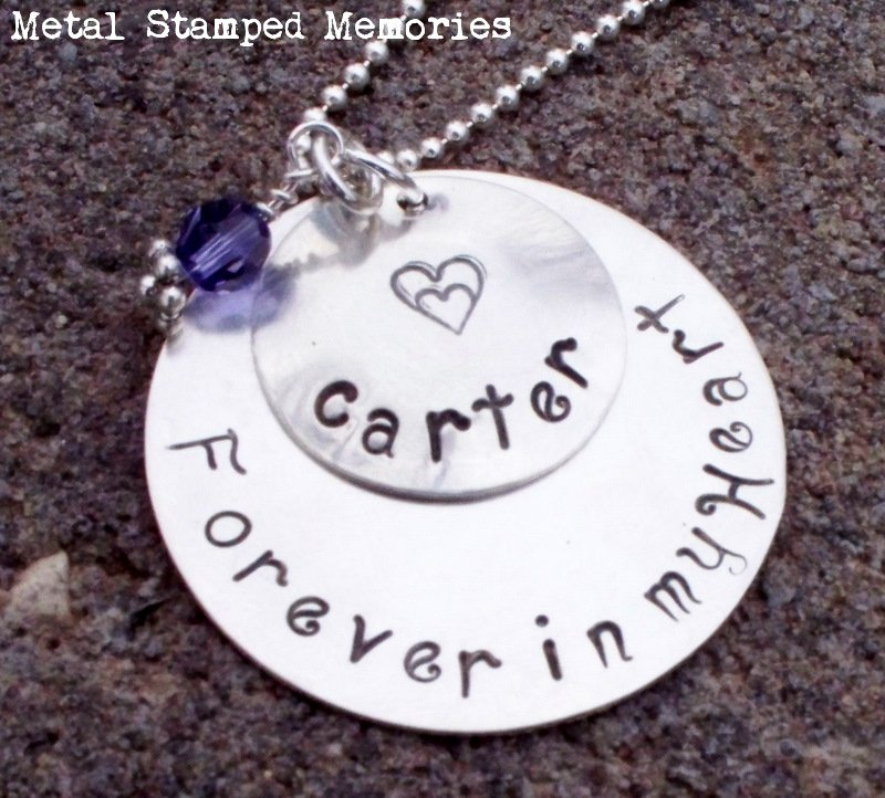 Forever in my Heart Name Necklace