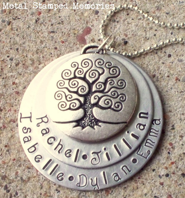 Double Stacked Tree of Life Necklace
