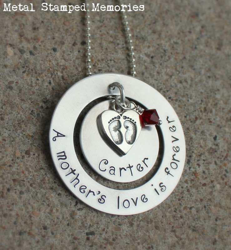 A Mother's Love is Forever Necklace