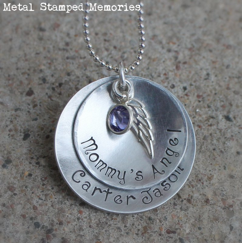 Mommy's Angel Necklace