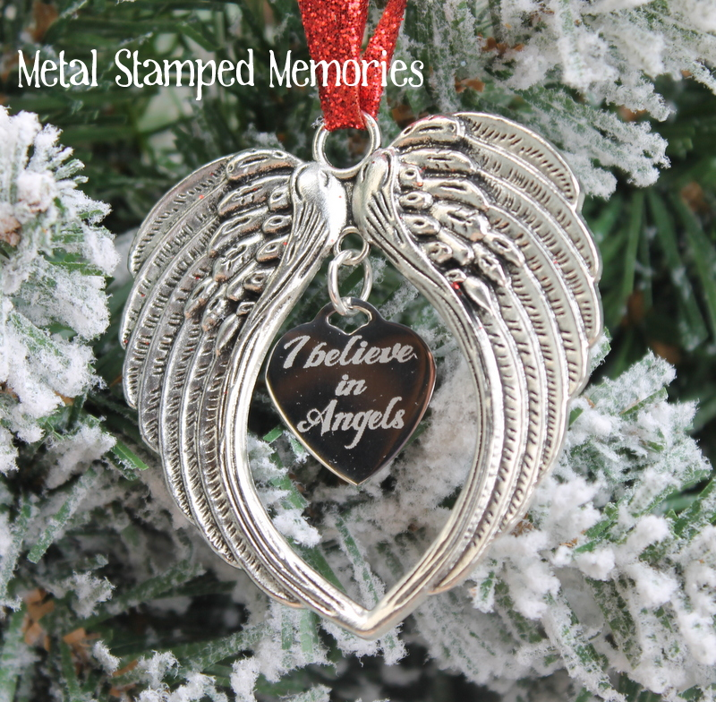 I Believe in Angels Ornament