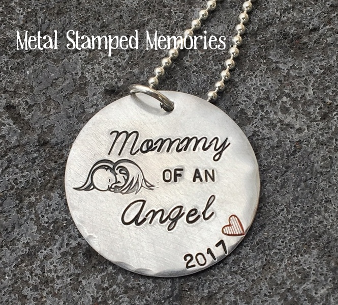 Sleeping Baby Angel Necklace