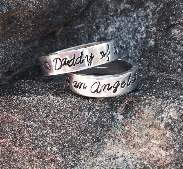 Daddy of an Angel Ring