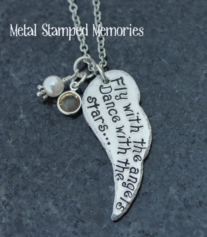 Fly with the Angels Dance with the Stars Necklace