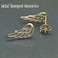 Open Angel Wing Earrings