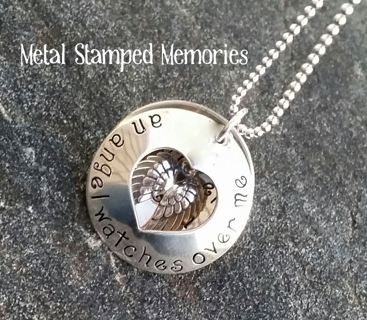 An Angel Watches Over Me Necklace
