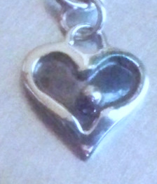A Mother's Love Heart Charm