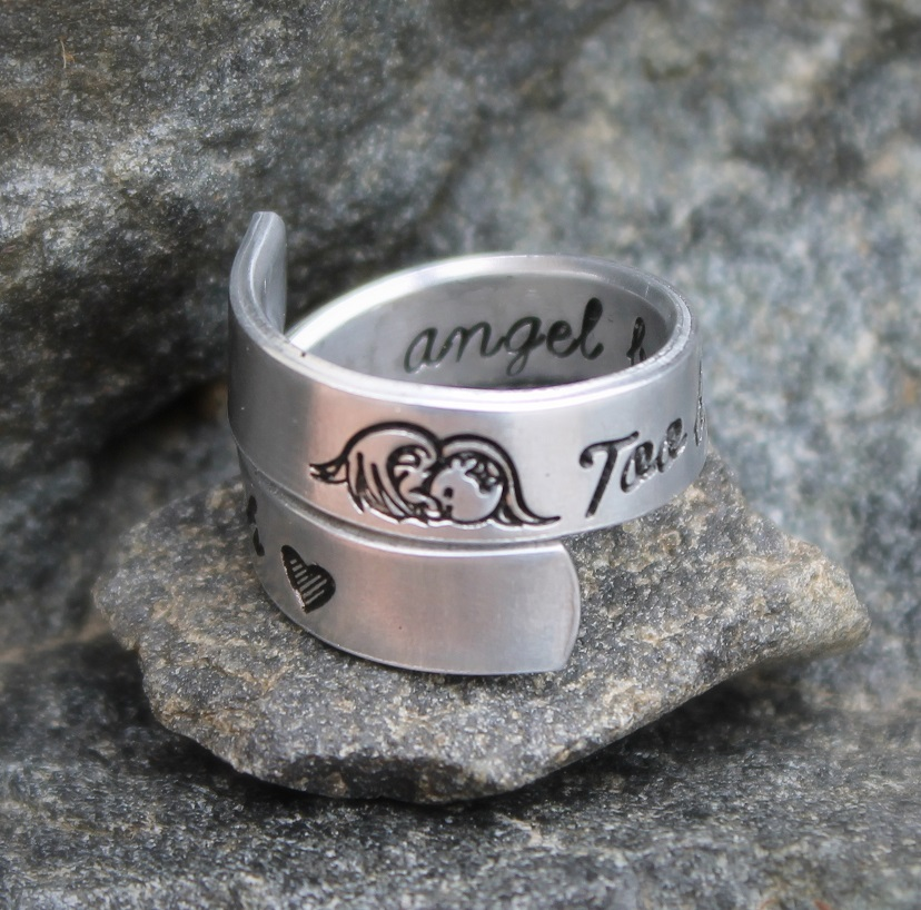 Too Beautiful for Earth Wrap Ring