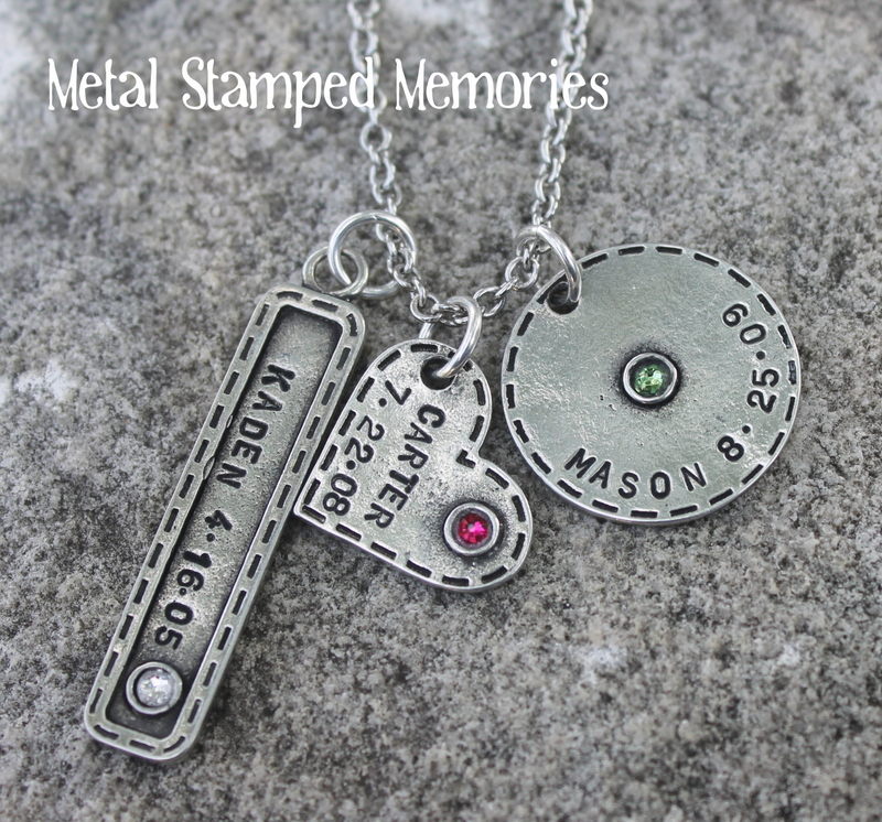 Stitches of Love Necklace