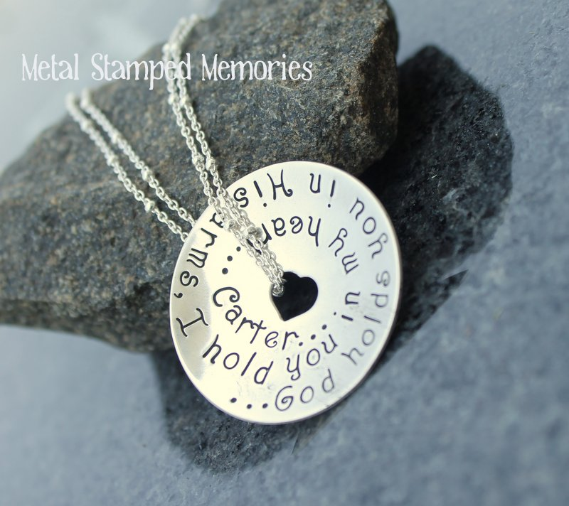 God Holds You in His Arms Necklace