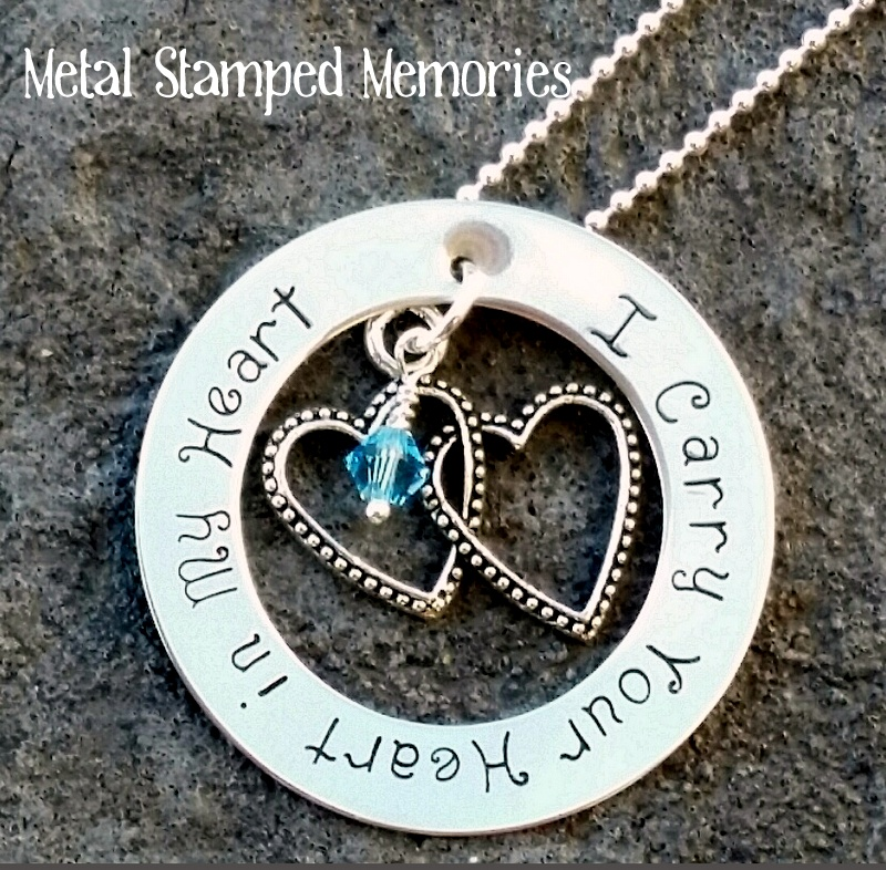 I Carry Your Heart in My Heart Necklace