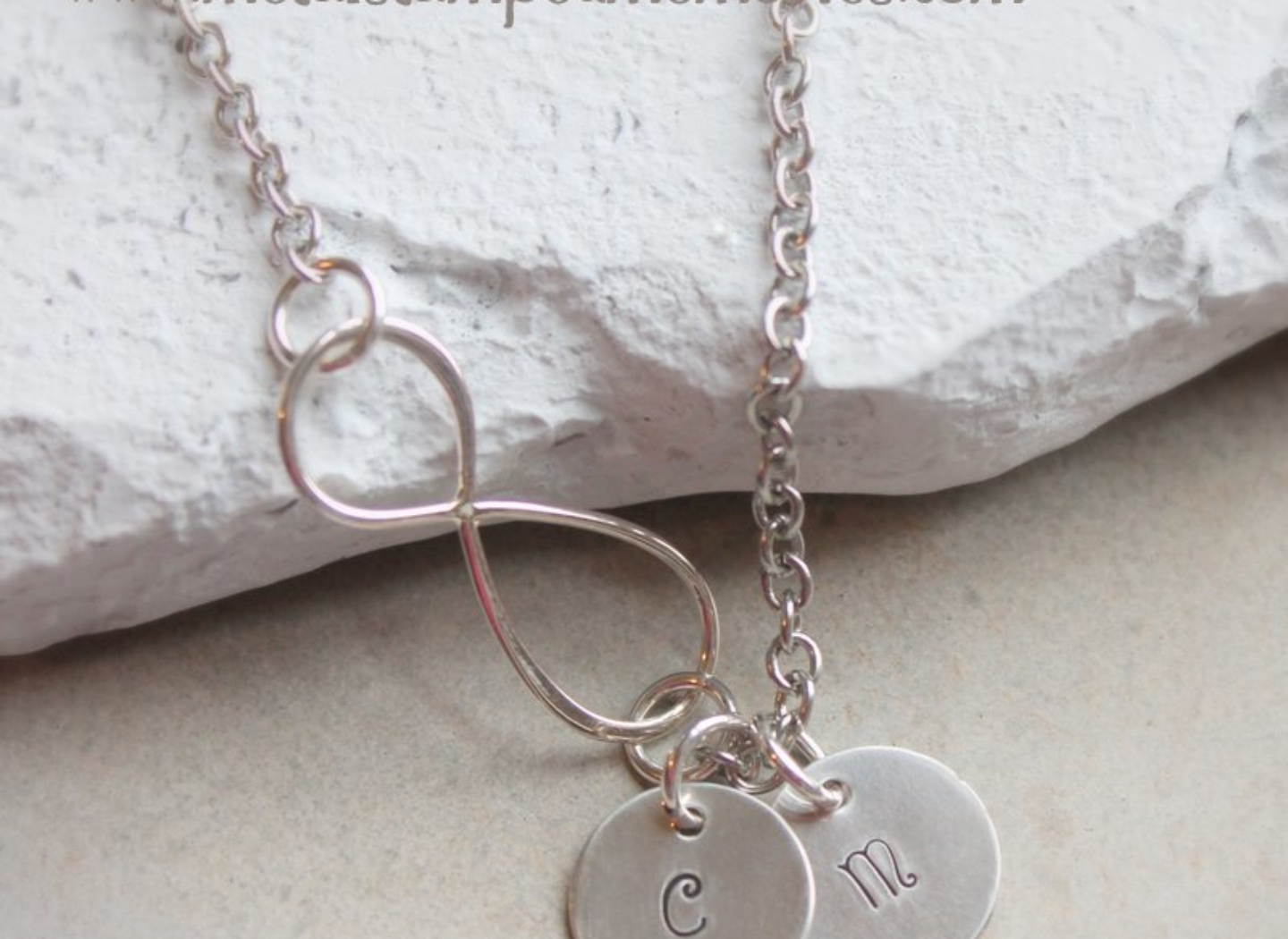 infinity initial personalized loss miscarriage necklace c and memorial necklaces keepsakes baby